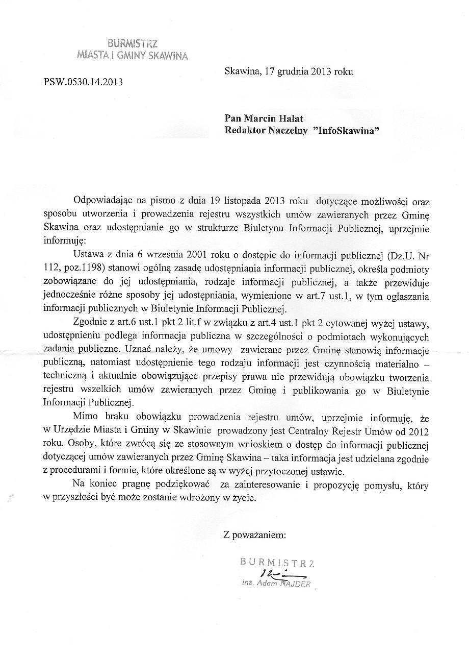 SKAWINA_RejestrUmów_1